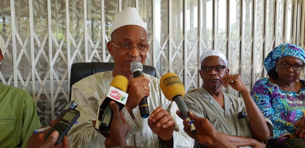 Des citoyens de Conakry  apportent leur soutien au leader de l'UFDG
