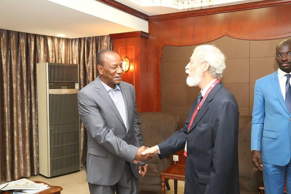 Le Pr. Alpha Condé reçoit le représentant de l'ONU à Bissau