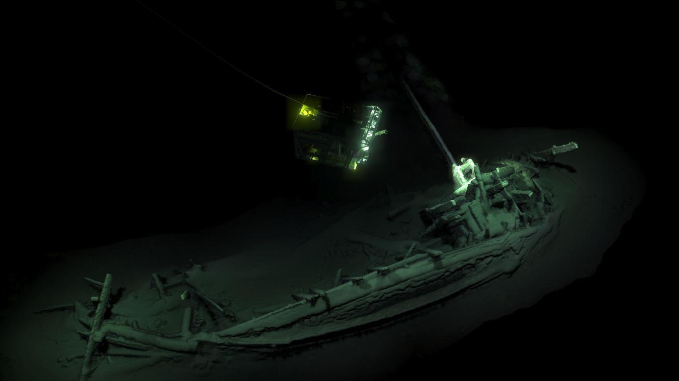 Archéologie La plus vieille épave au monde a été découverte dans la mer Noire, elle est intacte