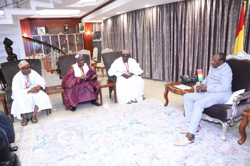 Les sages du Foutah chez le Chef de l'Etat