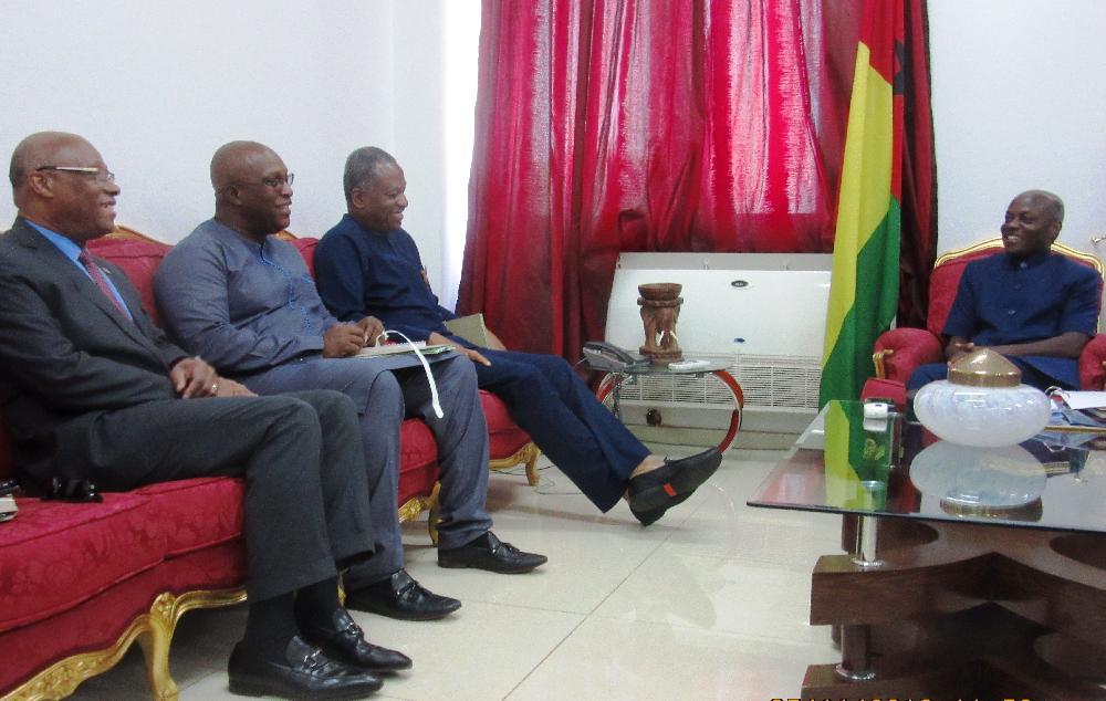 Législatives en Guinée Bissau : le Ministre d'Etat Kiridi Bangoura dans la mission d'évaluation du processus électoral