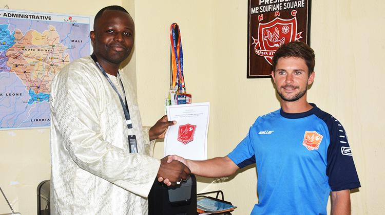 Préparation physique: Cyril Plouzennec signe un contrat de deux ans au Horoya AC
