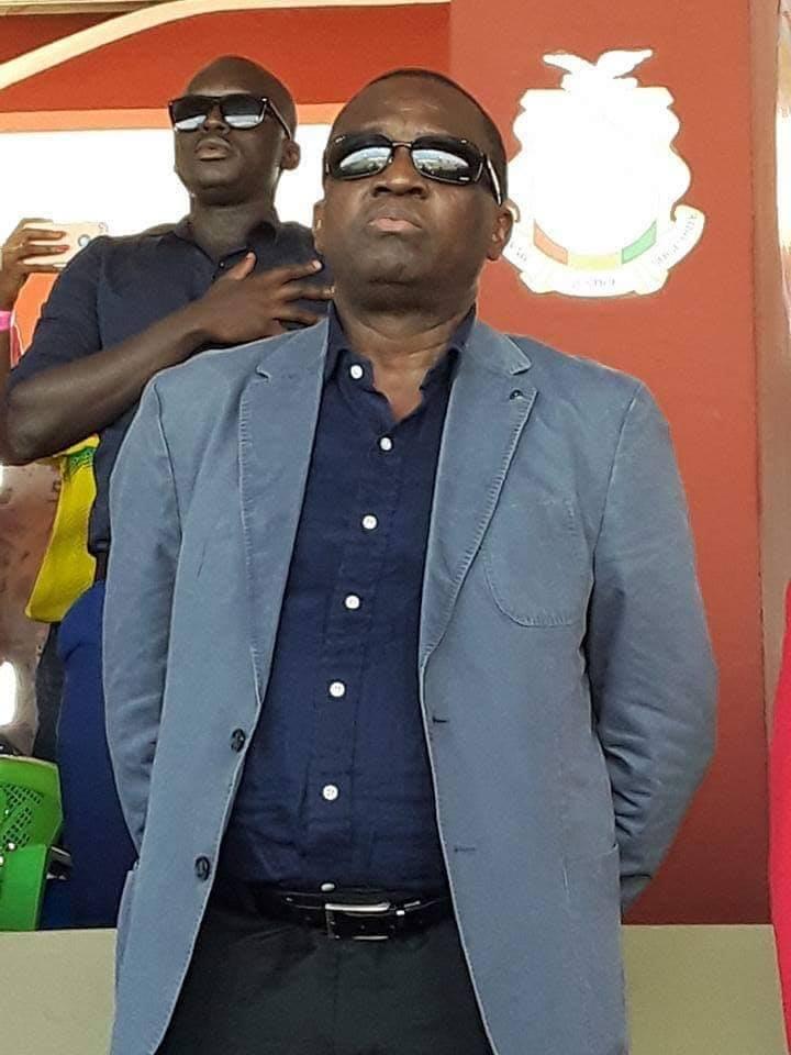 Le président de la FEGUIFOOT, Mamadou Antonio Souaré, en deuil
