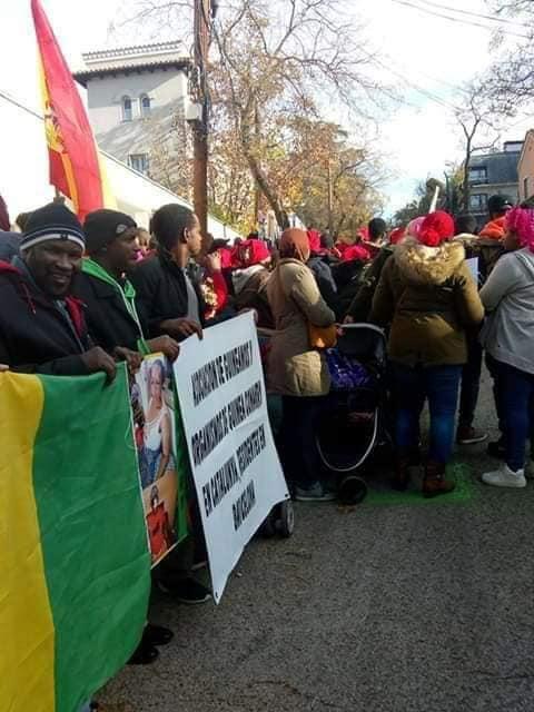 Madrid: des Guinéens manifestent contre Alpha Condé dans la capitale espagnole
