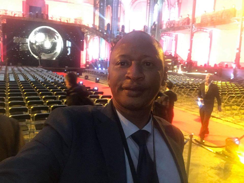Remise du Ballon d'or à Paris: le journaliste Ibrahima Diallo sur place au nom de la Guinée