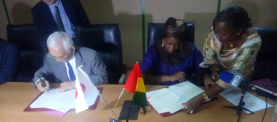 La Guinée et le Japon se penchent sur la reconstruction du Pont Soumba sur la Nationale 3