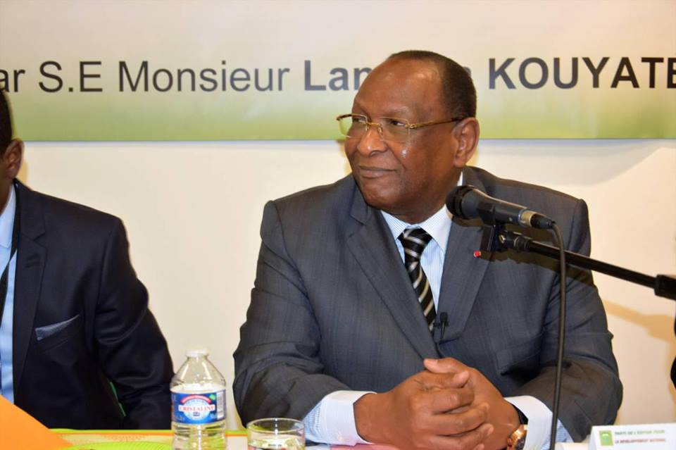 Les vœux de nouvel an de Lansana Kouyaté ( vidéo )