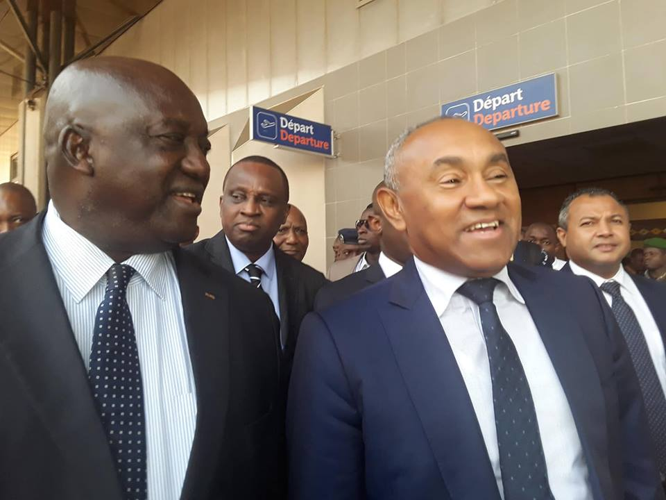 Le président de la CAF est à Conakry