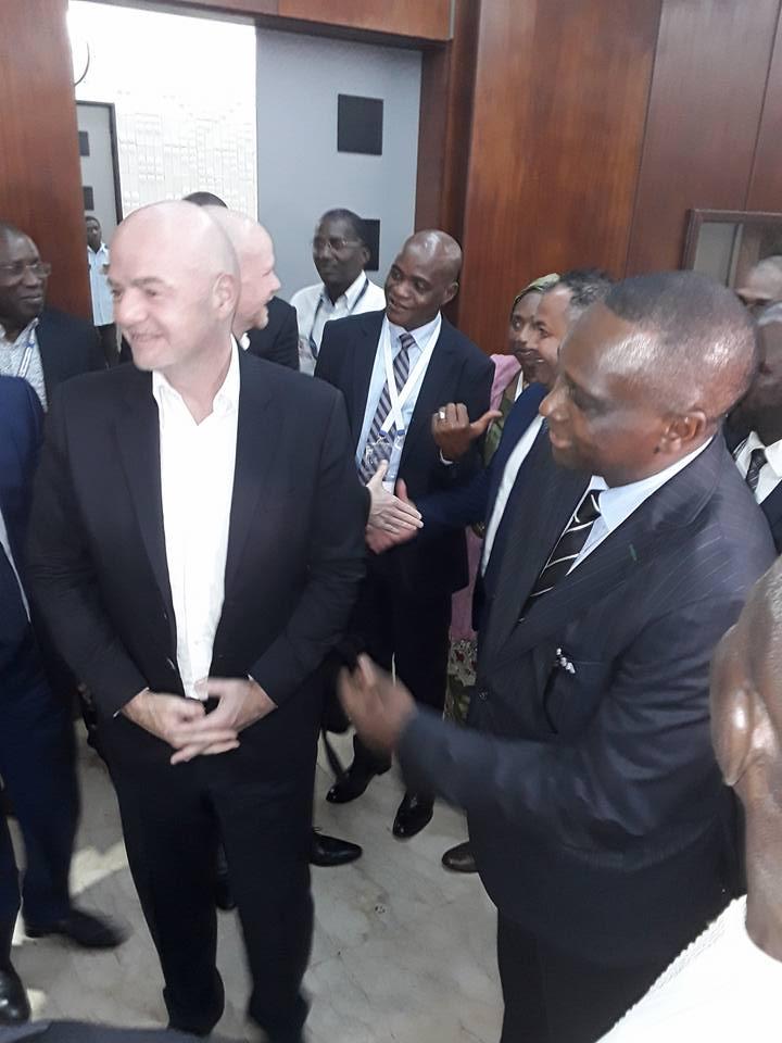 Arrivée à Conakry du patron de la FIFA
