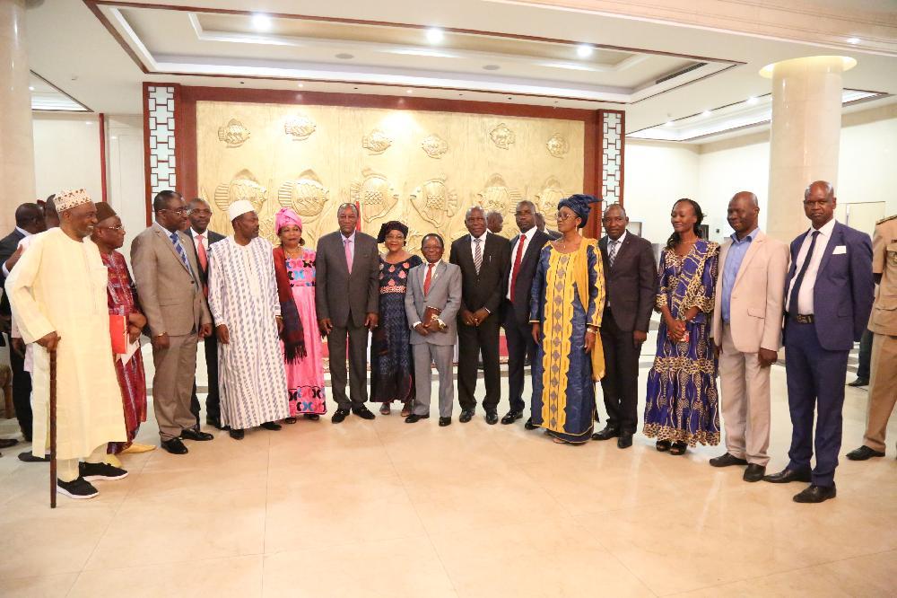 Les diplomates et les institutions présentent leurs vœux au Président Alpha Condé
