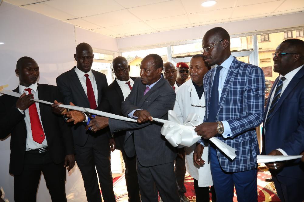 Caisse nationale de sécurité sociale: le Président Alpha Condé inaugure l'IRM du centre de diagnostic