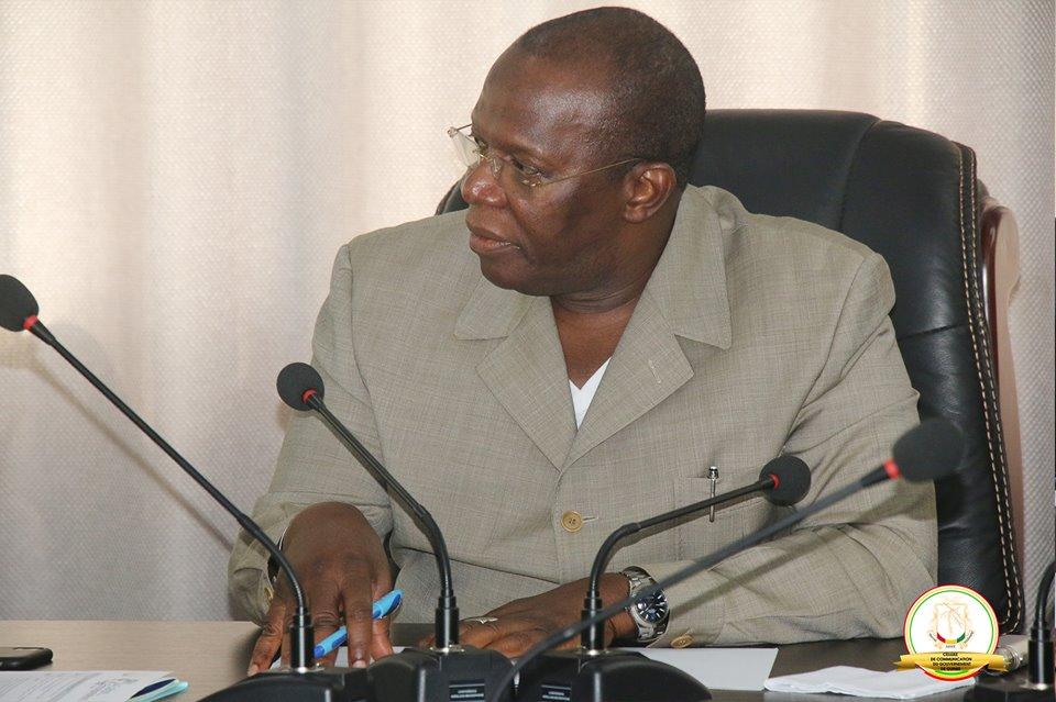 Le Comité d'organisation du SADEN 2019 chez le premier ministre Kassory Fofana