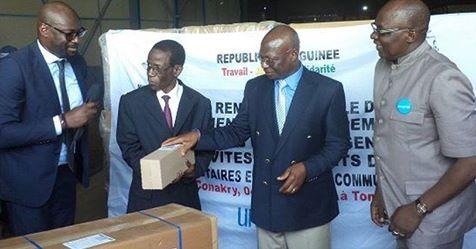 Santé: l'Unicef vole au secours de la Guinée
