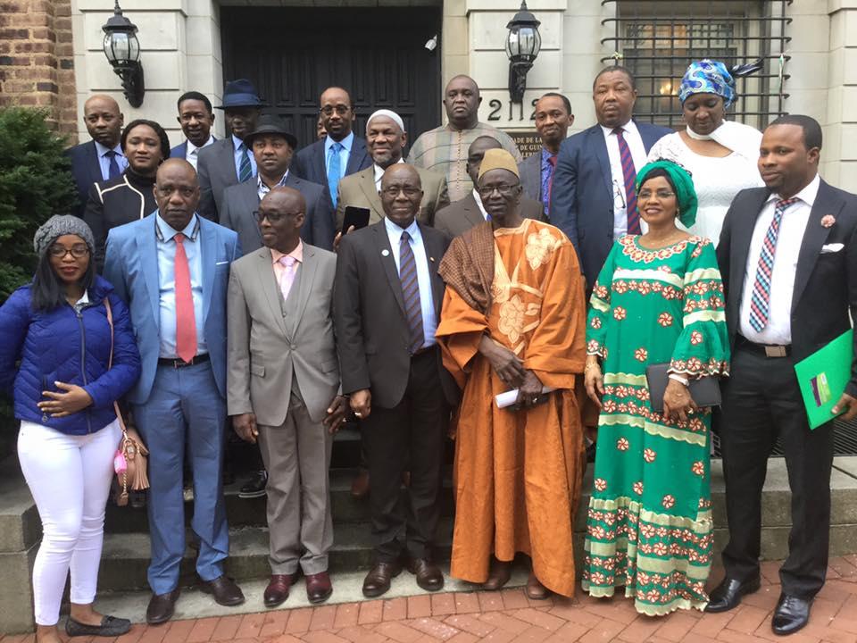 Ce que le ministre de la défense nationale demande aux Guinéens des Usa