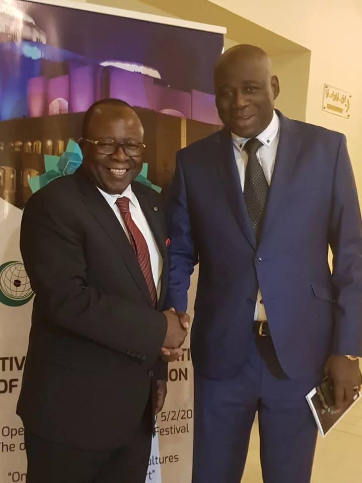 Egypte: Fodéba Isto Kéïra chez l'ambassadeur de la Guinée auprès de l'OCI
