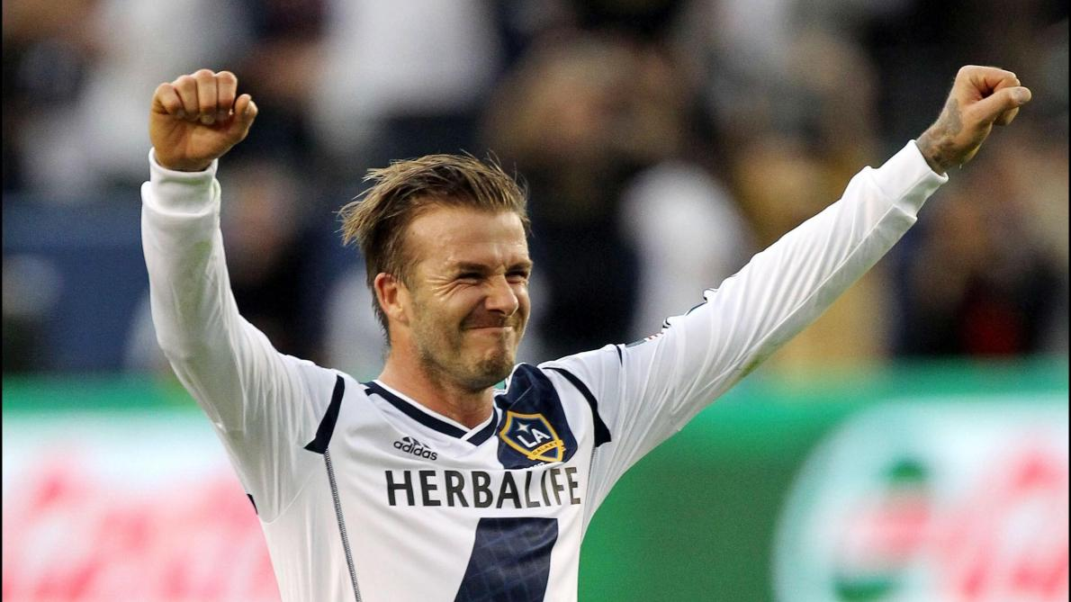 Los Angeles Galaxy (MLS) va bientôt présenter une statue à l'effigie de David Beckham