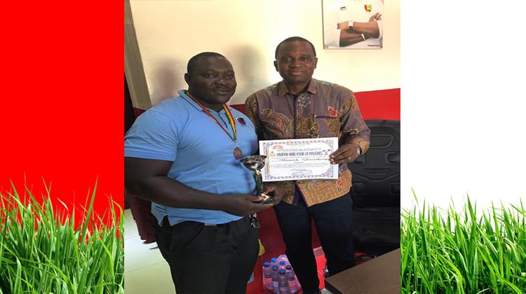 Championnat National d'Haltérophilie: du Bronze pour Doumbouya de GBM qui rend hommage au président Antonio Souaré