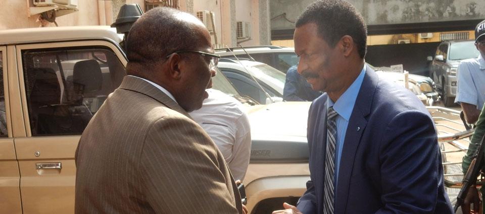 Visite surprise de Kassory Fofana au ministère de l'Energie et de l' Hydraulique