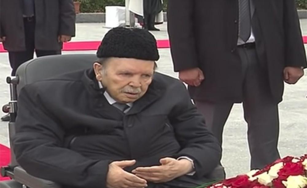 Bouteflika promet une présidentielle anticipée où il ne sera pas candidat