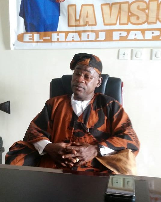 Papa Koly annoncé en grande pompe à Macenta