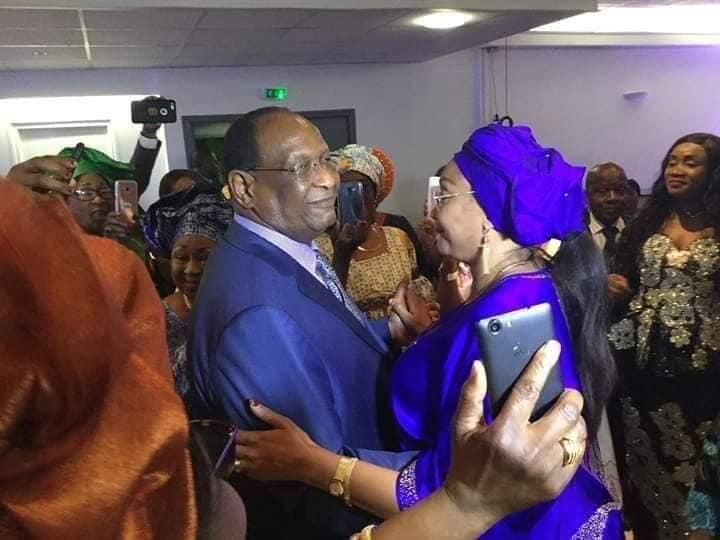 Arrêt sur image: Lansana Kouyaté et Halimatou Dalein sur la piste de danse