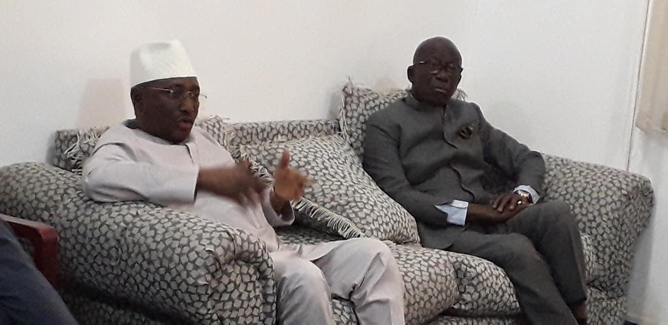 Politique: Abdoul Kabèlè Camara chez Sidya Touré