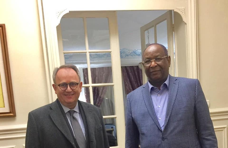 Un sénateur Français chez Lansana Kouyaté