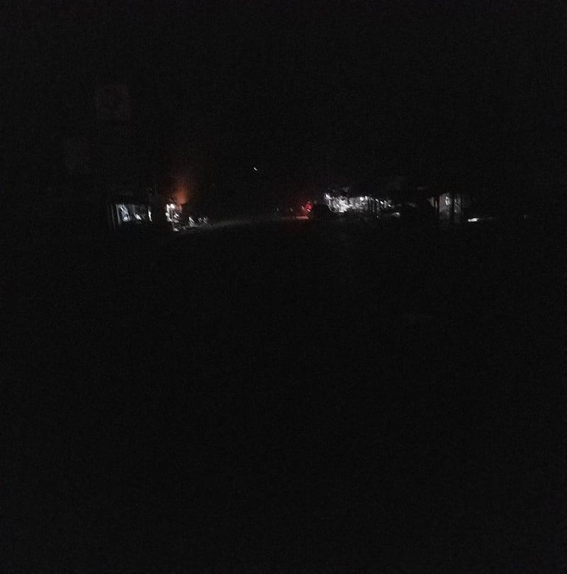 Carnet de route: voilà Faranah la nuit