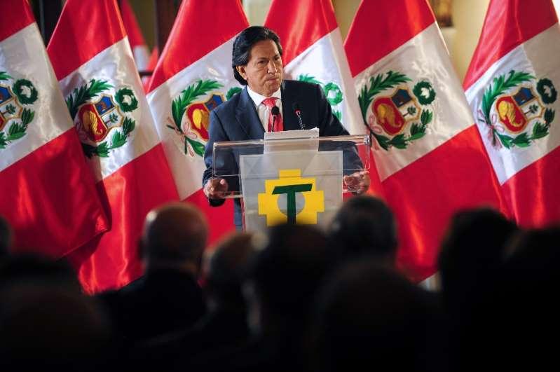 L'ex-président péruvien Toledo brièvement détenu aux Etats-Unis pour ivresse publique