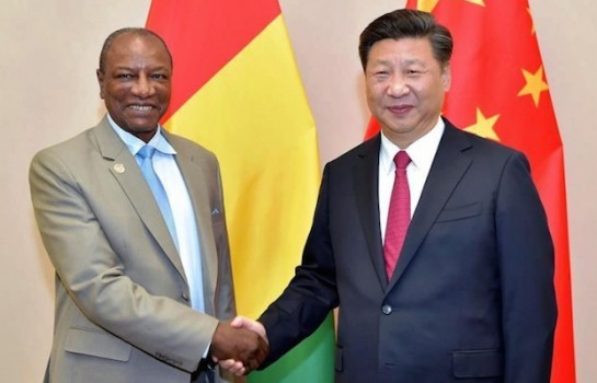 Coopération: le président Chinois remercie Alpha Condé ( lettre )