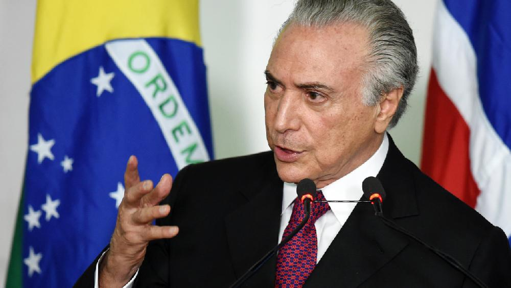 Brésil : l'ex-président Temer en prison