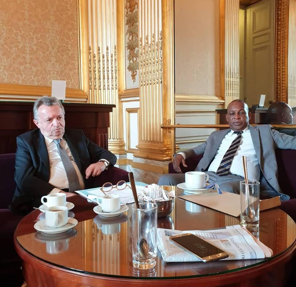 Paris: Konaté chez un responsable de la Commission de la Défense et de la Sécurité au Sénat