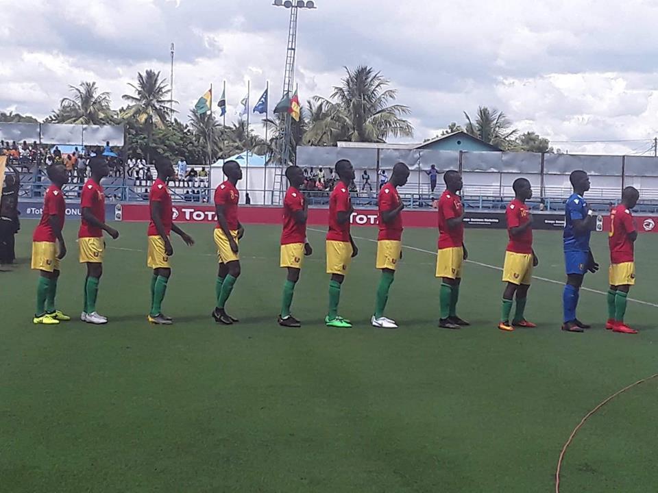 CAN U 17 /Tanzanie: la Guinée perd face au Cameroun ( 2 - 0 ) !