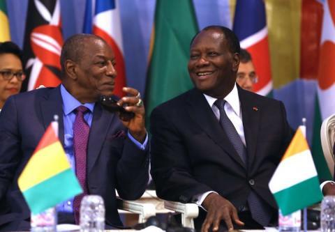 Arrivée à Abidjan du président Alpha Condé pour une visite de 72h