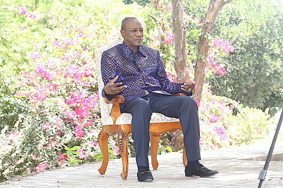 Abidjan: Alpha Condé laisse une nouvelle fois planer le doute sur une candidature