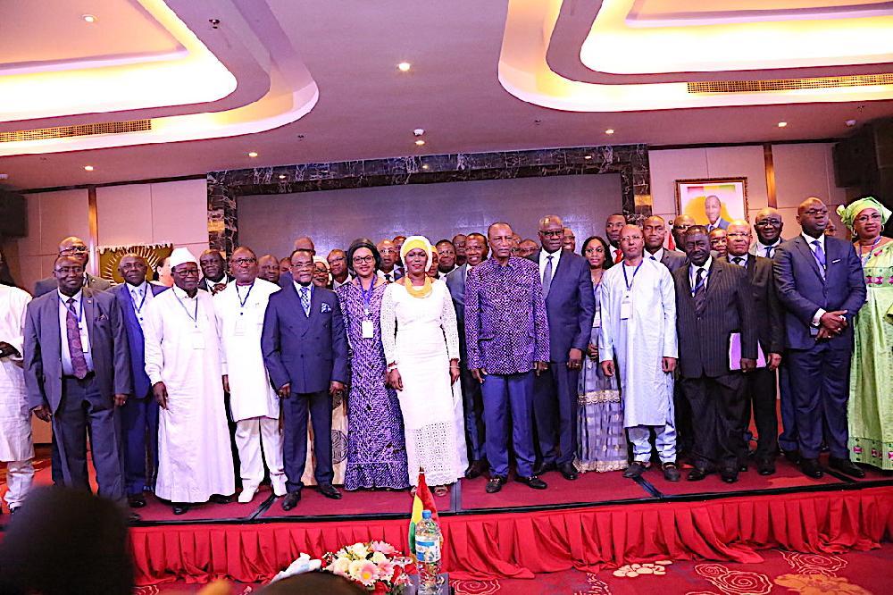Conférence diplomatique: le président Condé insiste sur le rôle des ambassadeurs