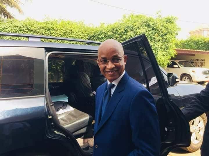 Cellou Dalein Diallo en route pour Conakry