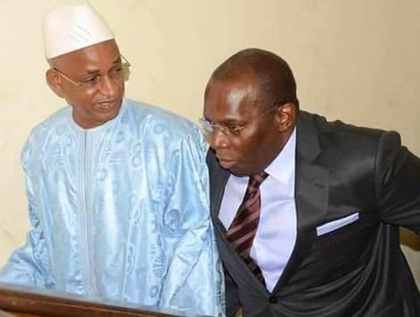 Les condoléances de Cellou Dalein au premier ministre Kassory Fofana