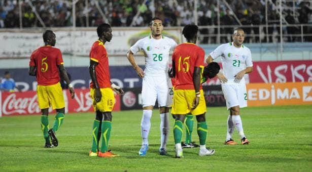 Le tableau des huitièmes de finale de la Coupe d'Afrique des Nations: Guinée vs Algérie