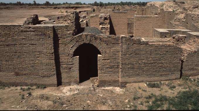 Babylone, merveille de l'Irak, inscrite au patrimoine mondial de l'Unesco