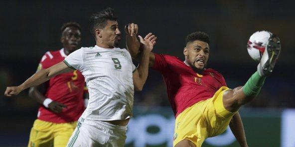 CAN-2019 : sereine, l'Algérie surclasse la Guinée et file en quarts