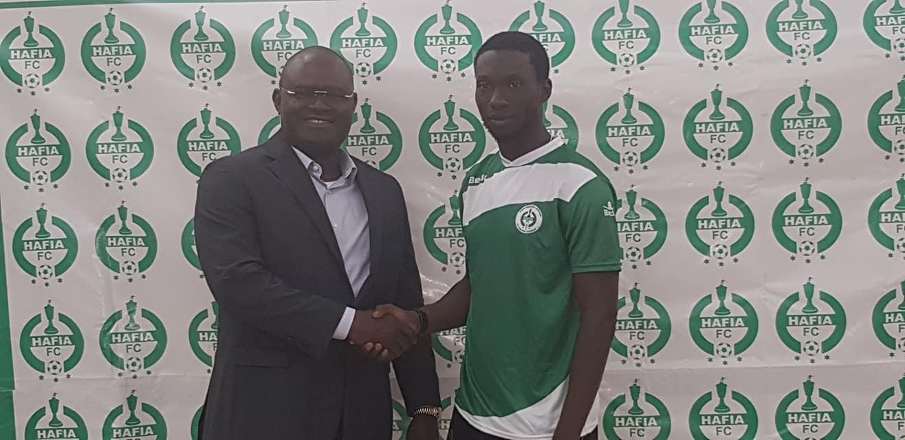 L'international Burkinabé Dramé Zati Michaelou signe au HAFIA FC