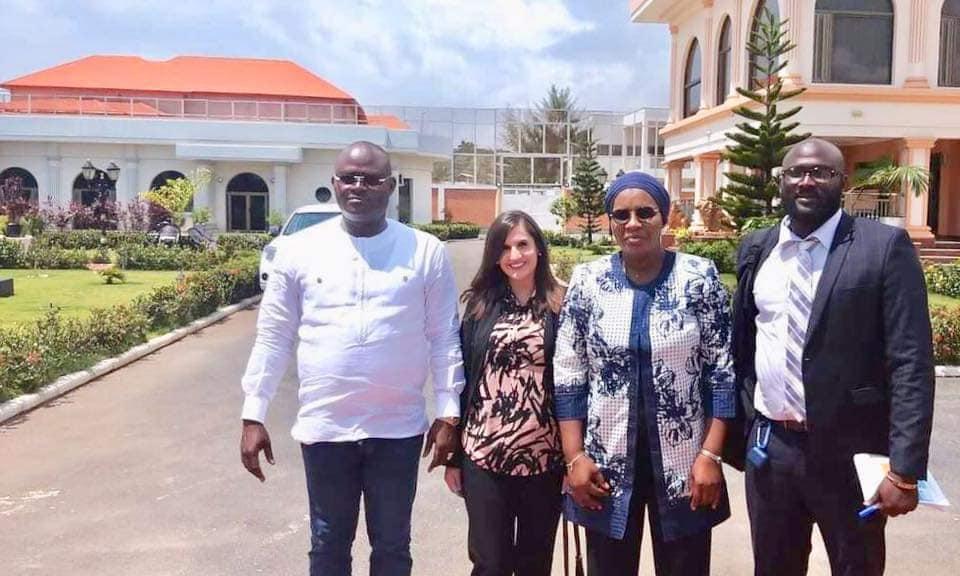 Humanitaire / Des représentants de Plan Guinée International chez le PDG de Guicopres