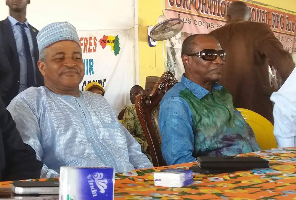 Alpha Condé nomme Bah Ousmane à un nouveau poste