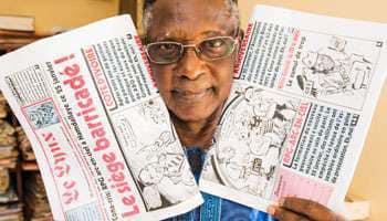 Presse Guinéenne en danger! Souleymane Diallo , un des symboles d'une presse indépendante, sous contrôle judiciaire