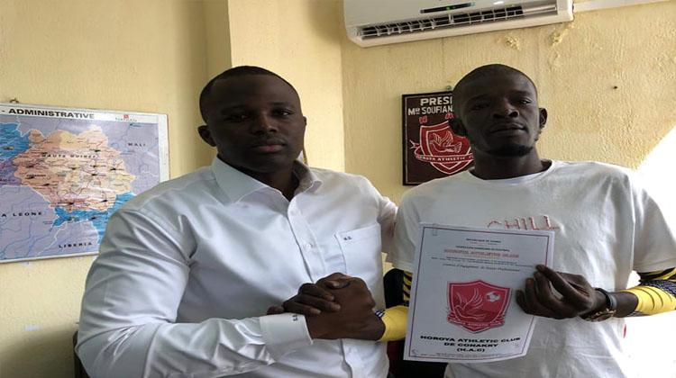 Le contrat de l'international Sénégalais, Khadim N'Diaye, est acté par le Horoya AC