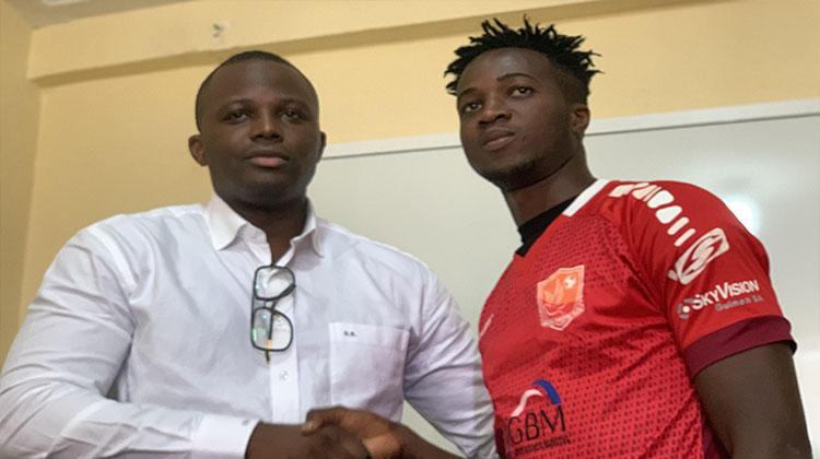 Horoya AC/ un an de prêt pour Sékou Camara