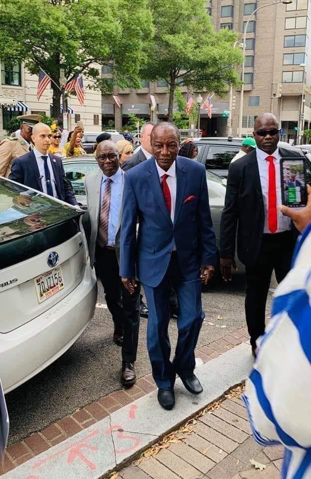 Le FDNC invite les Guinéens d'Amérique à une manifestation anti-Alpha Condé ( communiqué )