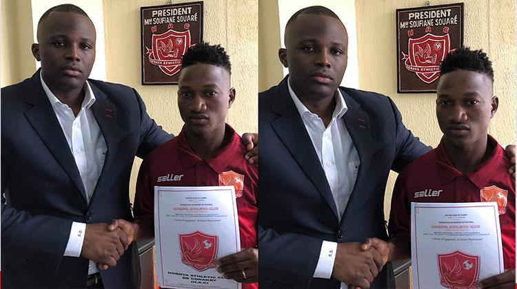 Le défenseur M'Bemba Camara rejoint le Horoya AC