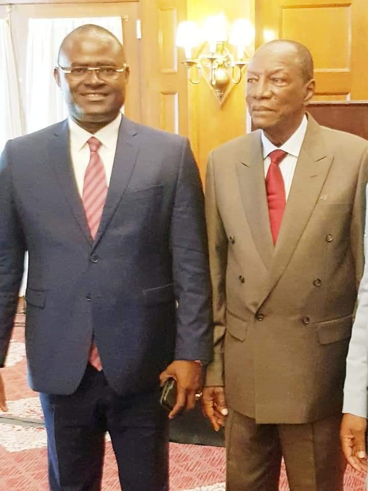 Le président Alpha Condé et le patron de Guicopres,KPC, à la rencontre du secteur privé à Washington